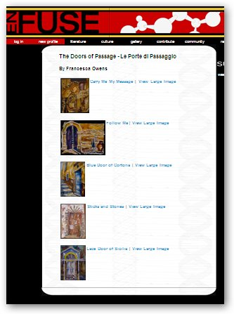 Doors of Passage - EnFuse E-zine